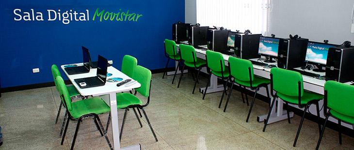 Salas Digitales Movistar Fundación Telefónica Venezuela