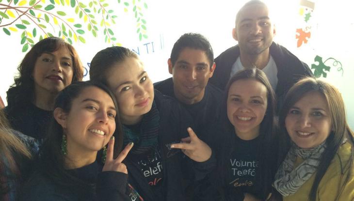 """""""Ser Voluntaria Telefónica ya forma parte de mi genética»"""
