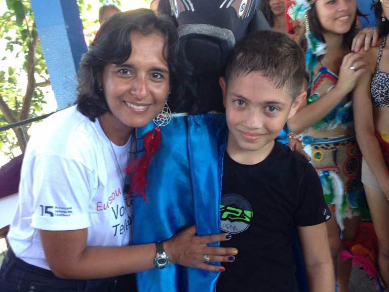 """Norma Gordillo: """"Es la mejor experiencia que uno puede vivir como voluntario"""""""