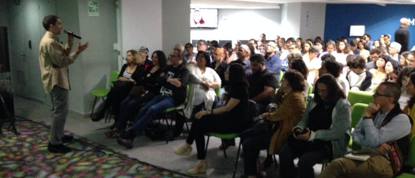Realizamos seminario internacional de Cultura Digital a más de 150 artistas, filósofos e investigadores