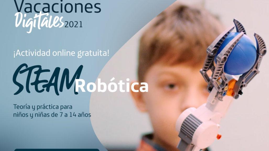 STEAM con Robótica – Inscripción desde el 9 de agosto