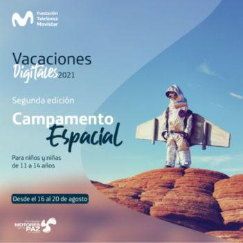 2da edición Campamento Espacial - Inscripción disponible desde el 13 de agosto