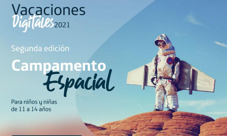 2da edición Campamento Espacial – Inscripción disponible desde el 13 de agosto