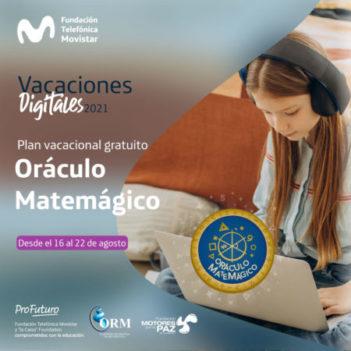 Plan Vacacional de Oráculo Matemágico- Inscripción abierta