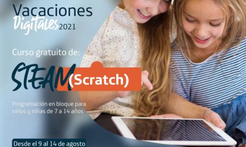 STEAM Scratch Inscripciones abiertas